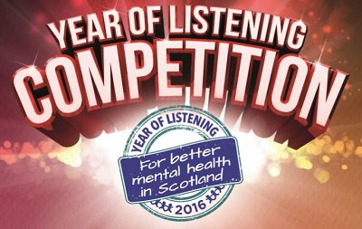 Scottish Huntingtons Association Breathing Space Year of Listening Competition