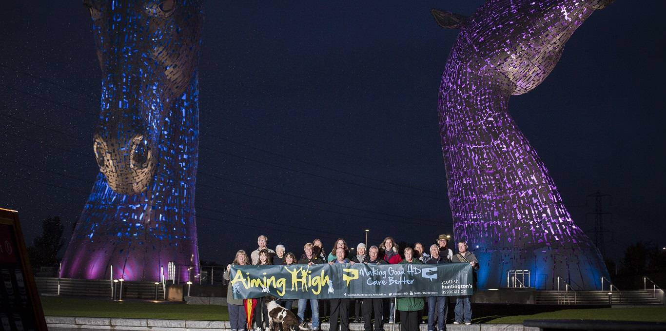 scottish huntingtons association home page light up for hd kelpies horses