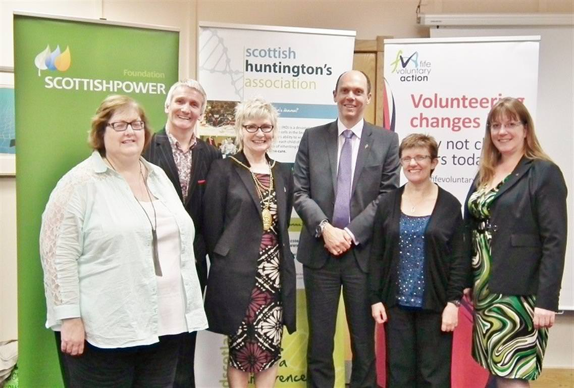 scottish huntingtons association home page volunteering