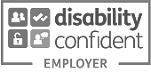 Footer Disability Confident Employer Transparent