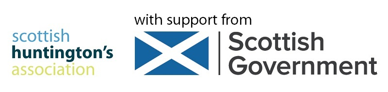 scottish huntingtons association SHA support from scottish government framework lead