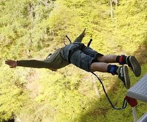 bungee jump scottish huntingtons association