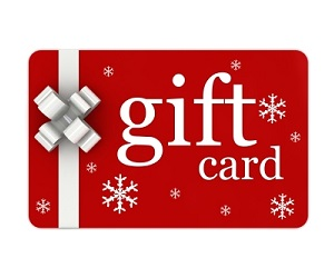 gift card scottish huntingtons association christmas