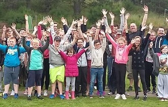scottish huntingtons association sha SHAYP summercamp group 2016