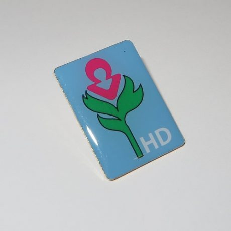 scottish huntingtons association shop sha fundraising amaryllis pin badge