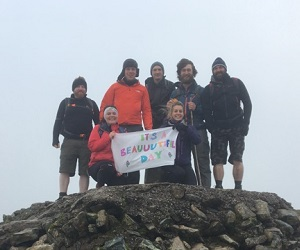 300 Three Peaks Challenge scottish huntingtons association sha snowdonia