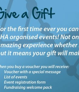 sha gift card voucher scottish huntingtons association events fundraising