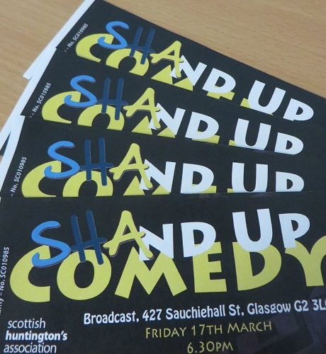 500 shop 17th march sha glasgow comedy festival shand up stand up broadcast