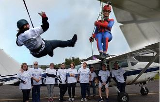 fundraising events montage scottish huntingtons association charity SHA