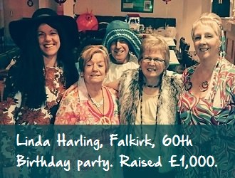 L Harling Party scottish huntingtons association our fundraisers sha