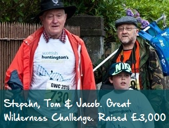 Tom & Stephen Jacob Lister scottish huntingtons association our fundraisers sha