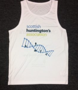 running front scottish huntingtons association SHA shop fundraising