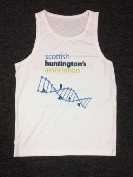running front scottish huntingtons association SHA shop fundraising