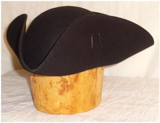 ec1f6a3d78c How to make a tricorn hat for your  HAT4HD selfie!