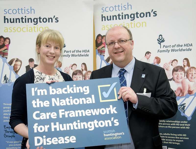scottish huntingtons association ncf national care framework john eden sha