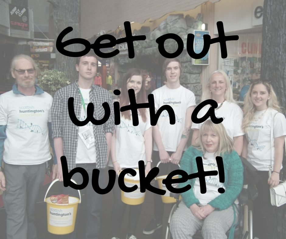 Get out with a bucket